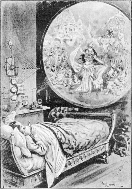 """Telefonoscope"" from La Fin du Monde, 1894"