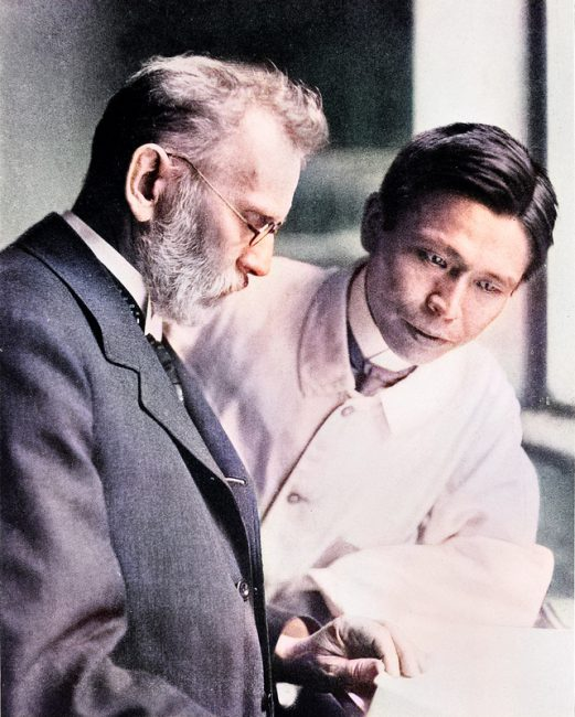 Paul Ehrlich and Sahachiro Hata