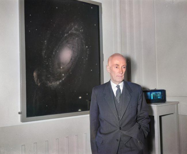 Jan Hendrik Oort (1900-1992) Image by Joop van Bilsen