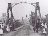 The Broughton Suspension Bridge and the Resonance Disaster