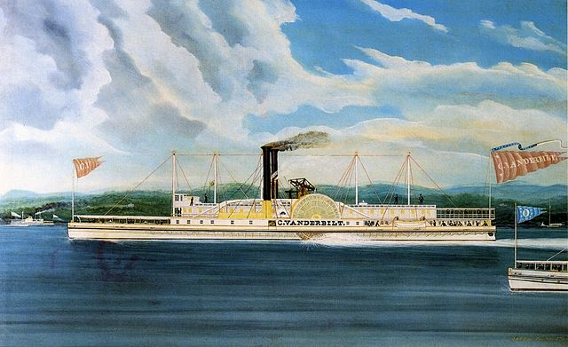 C. Vanderbilt, Hudson River steamer owned by Cornelius Vanderbilt