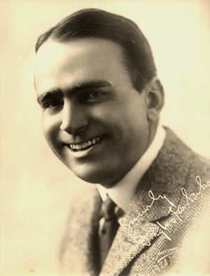 Autographed photograph of film actor Douglas Fairbanks (1921), First president of the Academy of Motion Picture Arts and Sciences