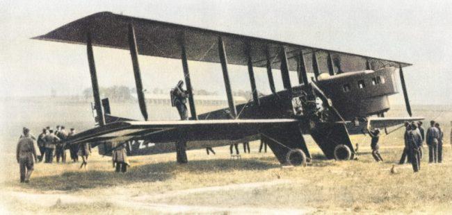 French bomber Farman F-68BN4 Goliath of the Polish Air Force. Henry Farman