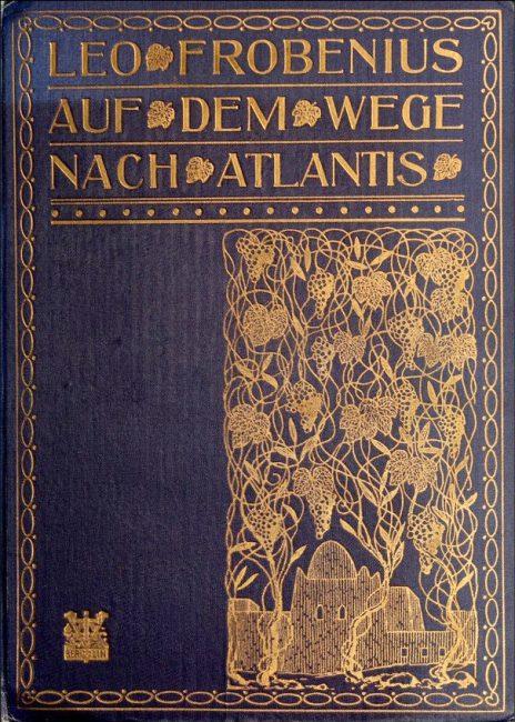 Cover page from Expeditionsbericht der Zweiten Deutschen Inner-Afrika-Expedition (1907-09) Auf dem wege nach Atlantis