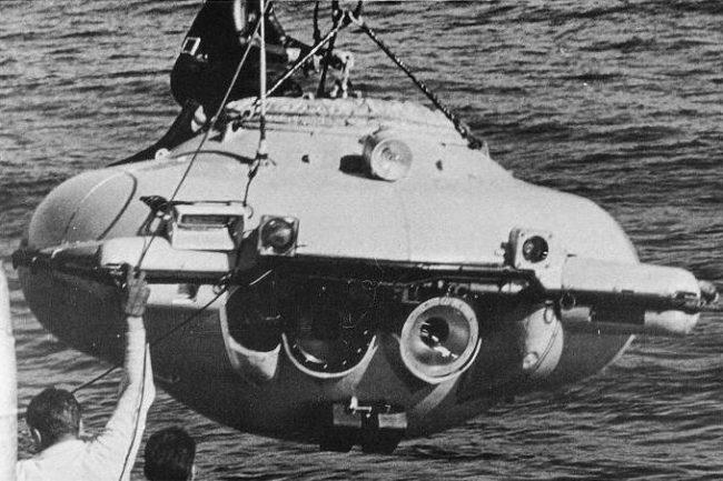 Jacques Cousteau's SP-350 Diving Saucer