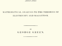 George Green and his Theory of Electricity and Magnetism