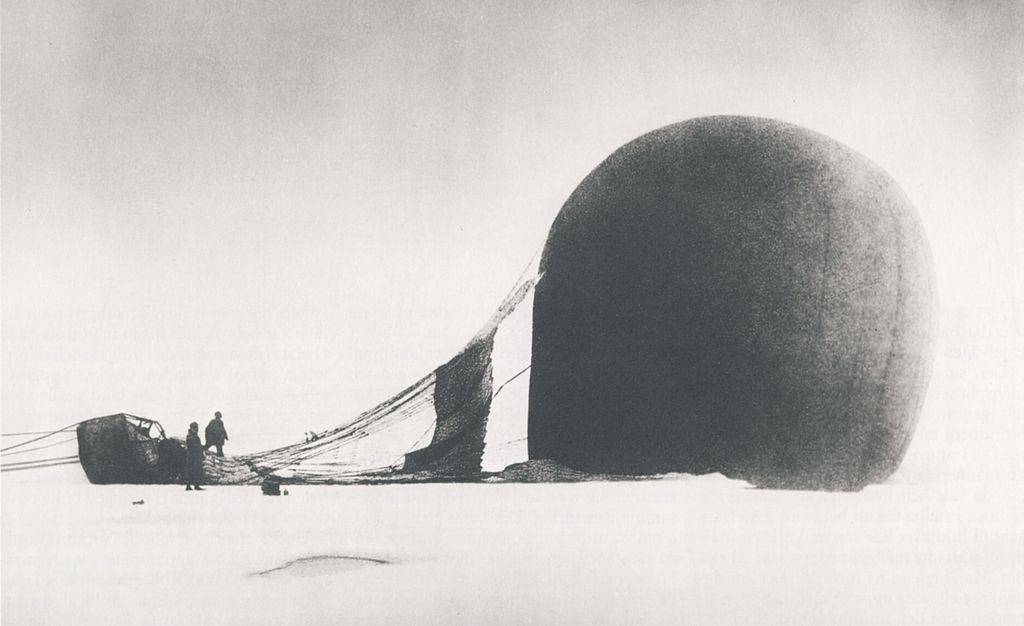 S. A. Andrée's Ill-Fated Arctic Balloon Expedition of 1897