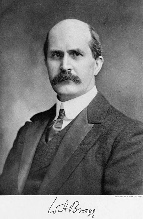 Sir William Henry Bragg and his Work with X-Rays
