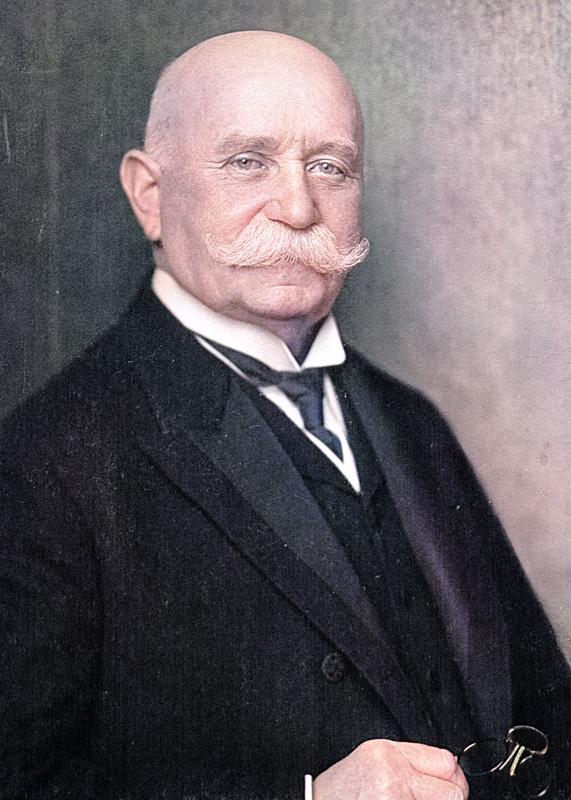 Count Ferdinand von Zeppelin (1838-1917)