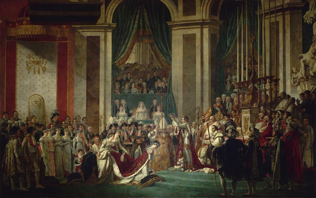 The Coronation of Napoleon, (1806)