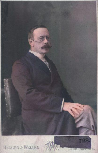Hans Christian Gram (1855 - 1938)