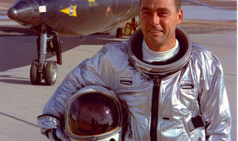 Reaching the Edge of Outer Space – the X-15 Rocket Space Plane