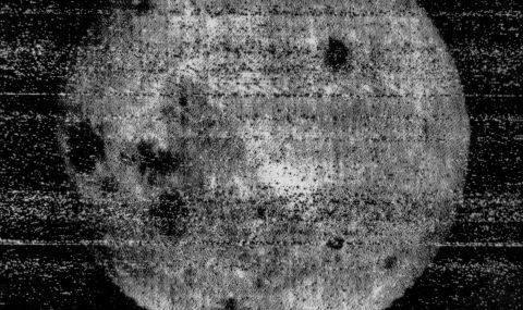 Luna 3 and the First Picture of the Far Side of the Moon
