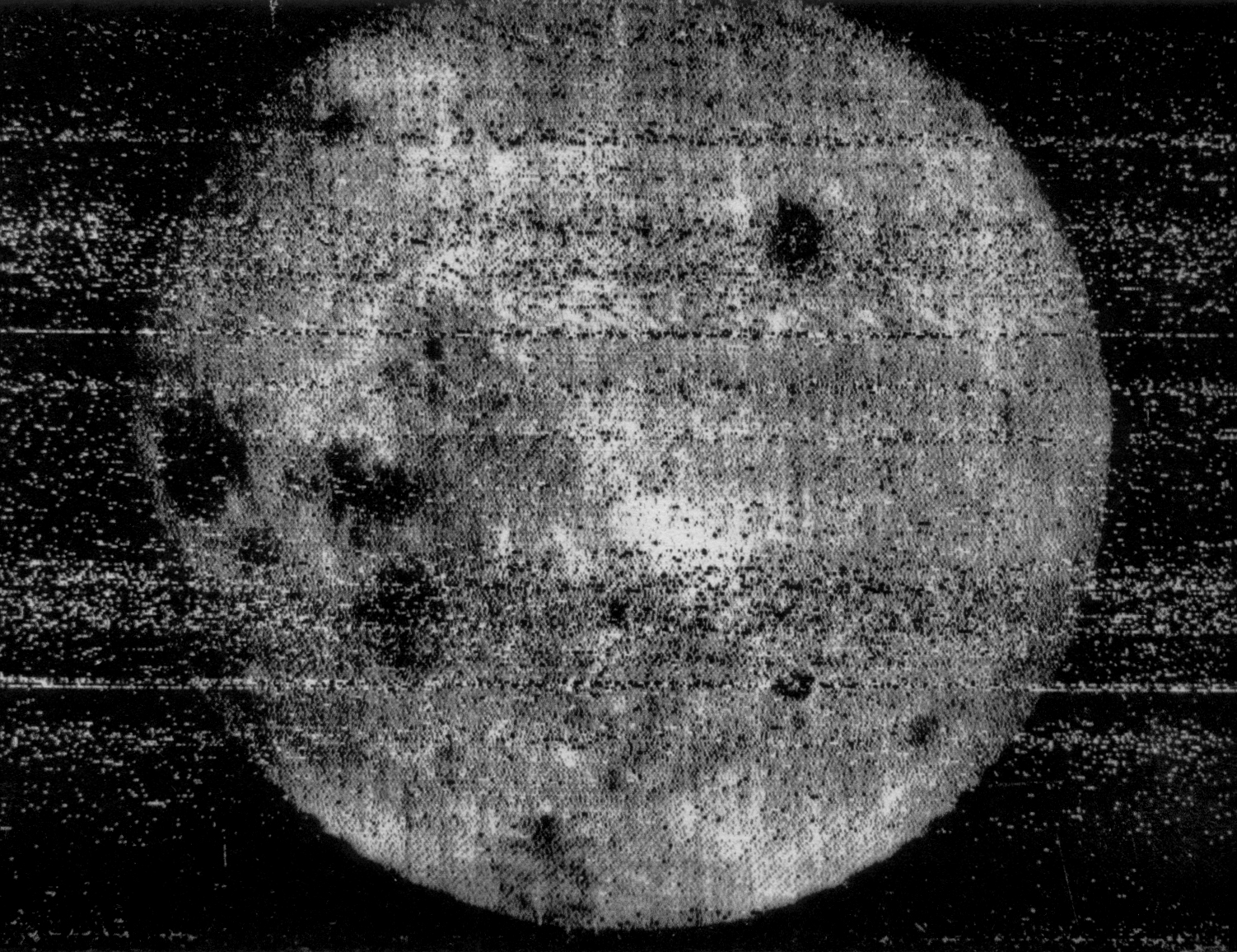 Luna 3 and the First Picture of the Far Side of the Moon - SciHi Blog