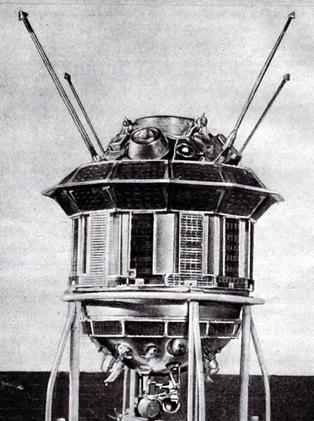 Luna 3, or E-2A No.1 (Russian: Луна 3) Spacecraft