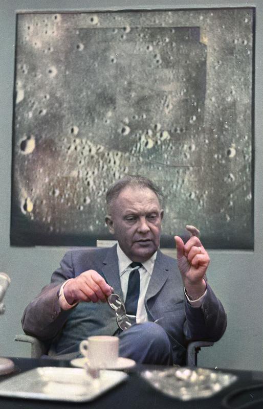 Gerard Kuiper (1905 - 1973) Image: Hugo vanGelderen, / Anefo