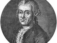 Johann Daniel Titius and the Titius-Bode Law