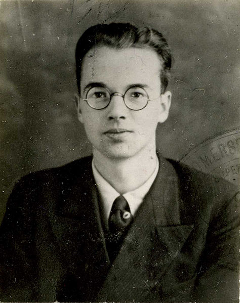 Police photograph of Physicist Klaus Fuchs