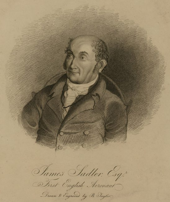 James Sadler (February 1753 – 28 March 1828)