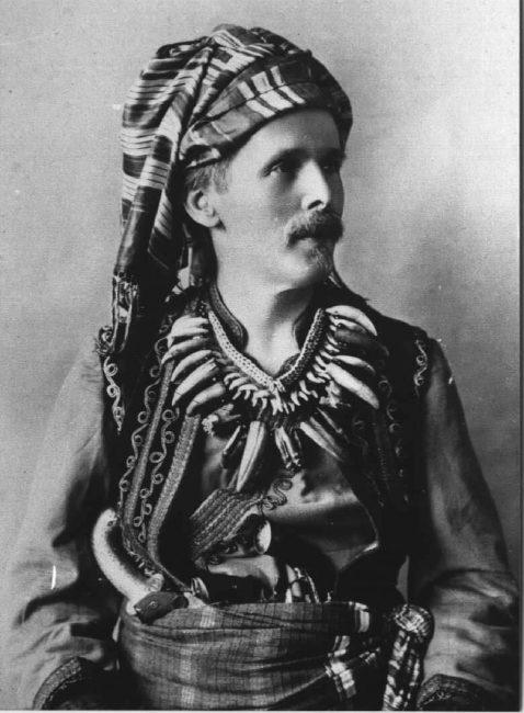 Karl May (1842-1912) - in disguise as Kara Ben Nemsi