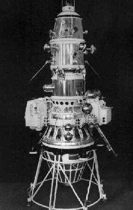 Luna 10, Luna 10 (E-6S series) was a 1966 Soviet Luna program, robotic spacecraft mission, also called Lunik 10. It was the first artificial satellite of the Moon.