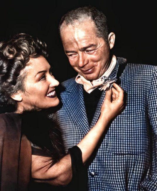 Billy Wilder (1906-2002) Studio publicity photo of Billy Wilder and Gloria Swanson