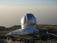 The Gran Telescopio Canarias