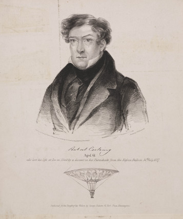 Robert Cocking (1776 – 24 July 1837) was a British watercolour artist who died in the first parachute accident.