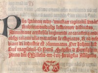 The Mainz Psalter and Major Innovations in Printing
