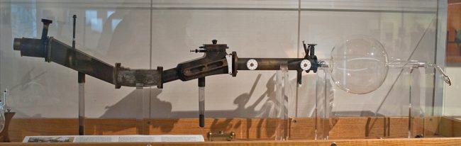 Replica of Aston's third mass spectrometer