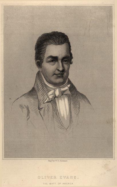 Oliver Evans (1755 - 1819)