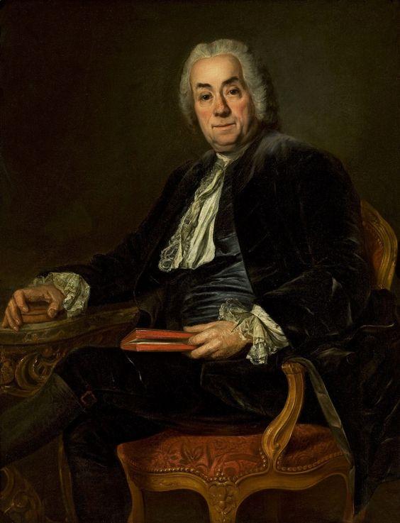 Count de Caylus by Alexander Roslin