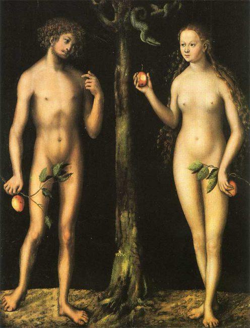 Lukas Cranach the Elder, Adam and Eve (1513-15)
