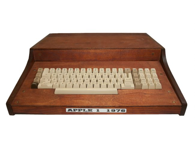 Apple I in a typical self-built case at that time