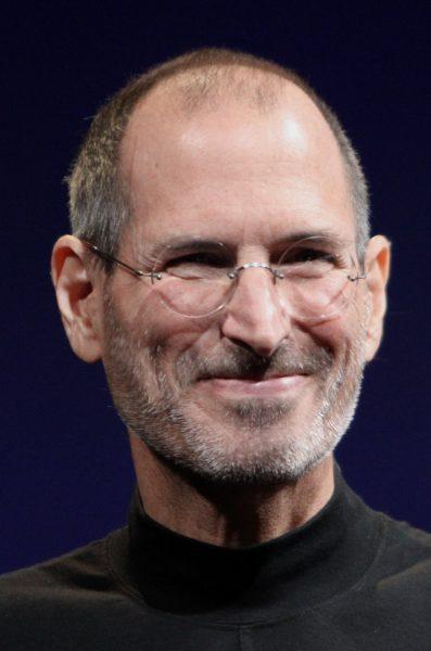Steve Jobs, by MetalGearLiquid, based on File:Steve_Jobs_Headshot_2010-CROP.jpg made by Matt Yohe [CC BY-SA 3.0 (http://creativecommons.org/licenses/by-sa/3.0)], via Wikimedia Commons