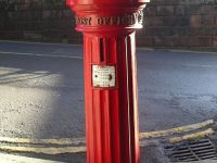 How Anthony Trollope invented the Red Postal Box