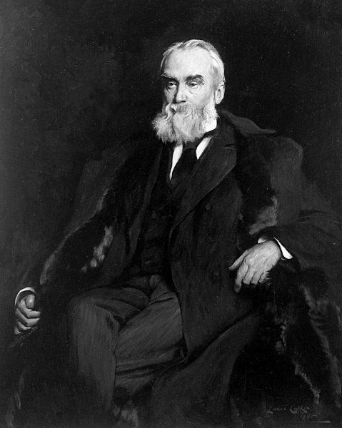 John Hughlings Jackson by Lance Calkin, 1895
