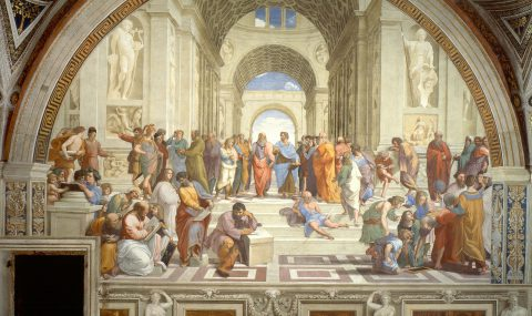 Raphael and the School of Athens