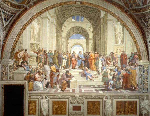 Raphael, Scuola di Atene The School of Athens, 1509-1511