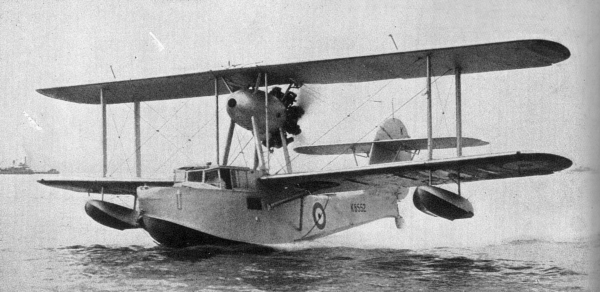 Supermarine Walrus design by R.J. Mitchell
