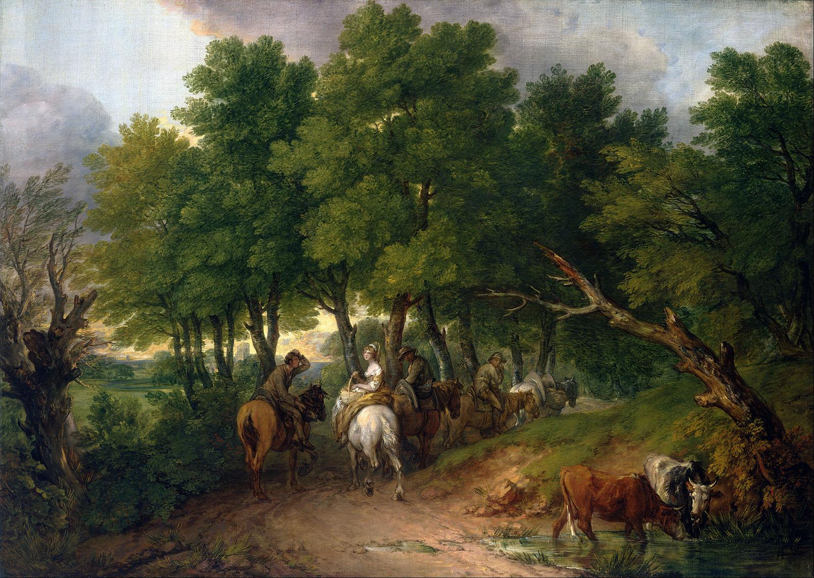 Thomas Gainsborough: Road to Market