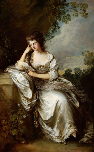 Thomas Gainsborough, Frances Browne, Mrs John Douglas