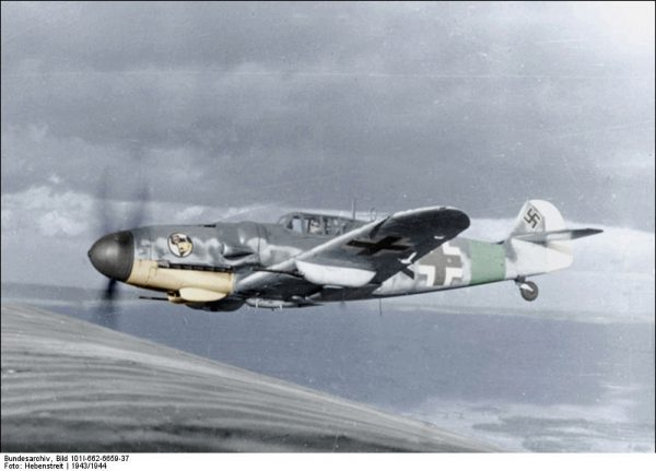 Messerschmitt Me 109, one of the most-produced warplanes in history