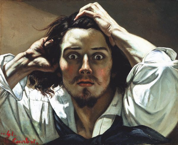 Gustave Courbet, Self-portrait (The Desperate Man), c. 1843–45