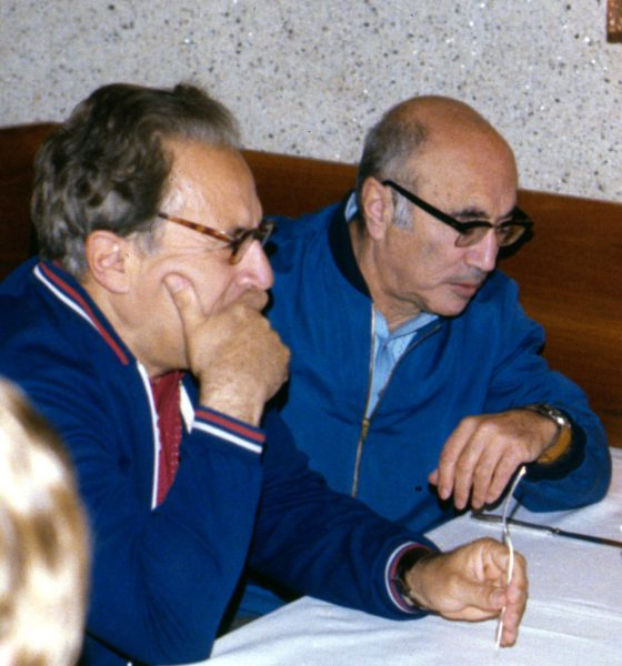 Iosif Shklovsky (left) with Ya. B. Zel'dovich