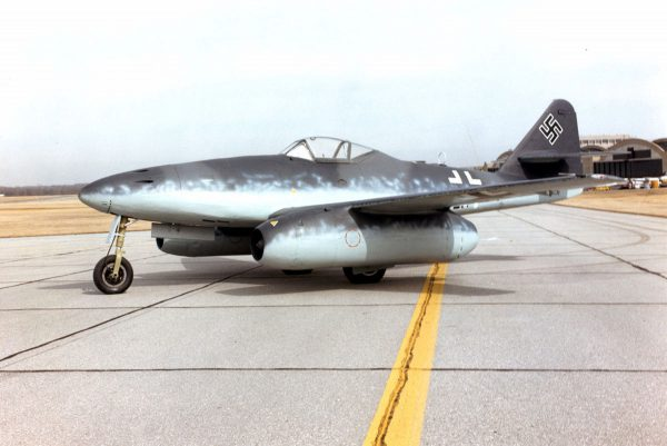 Messerschmitt Me 262A at the National Museum of the United States Air Force. (U.S. Air Force photo)