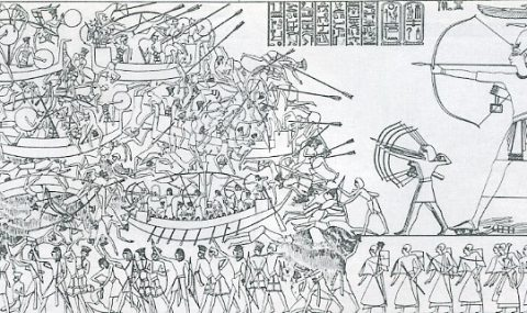 Gaston Maspero and the Sea Peoples