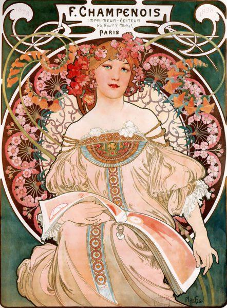 F. Champenois Imprimeur-Éditeur, lithograph, 1897