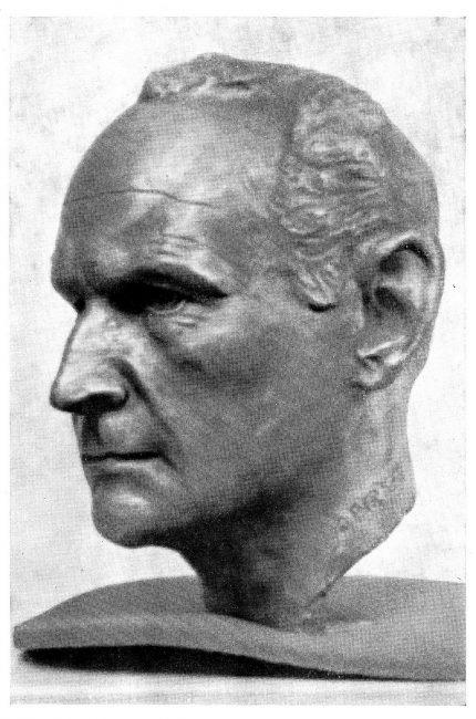 Heinrich Harrer (1912-2006), Bust by Alfred Pirker