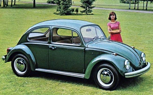 1968 Volkswagen 1500, Volkswagen Beetle